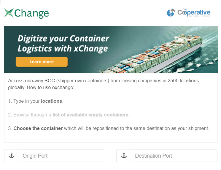xchange - TheCoop Logistics
