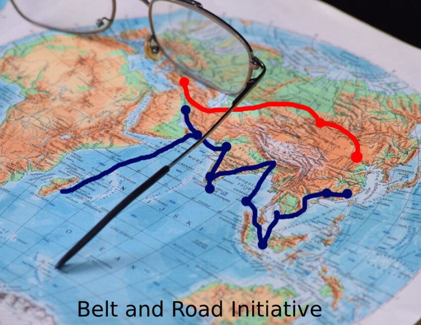 Belt and road initiative - transportation and logistics industry